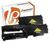 Bubprint 2 Toner & Trommel kompatibel für Brother TN-2320 DR-2300 für DCP-L2520DW HL-L2300D HL-L2340DW HL-L2360DW HL-L2380DW MFC-L2700DW MFC-L2740DW