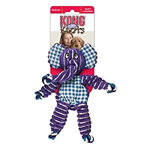 KONG Floppy Knots Elephant Ropes, Medium/Large