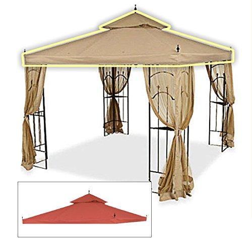 Ersatz Baldachin für Home Depot 's Arrow Pavillon–RIP Lock–Terra Cotta