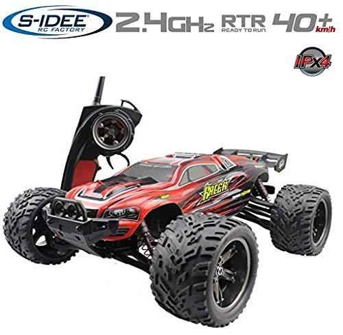 s-idee® 18160 9116 RC Auto Buggy wasserdichter Monstertruck 1:12 mit 2,4 GHz über 40 km/h schnell, wendig, voll proportional 2WD ferngesteuertes Buggy Racing Auto*