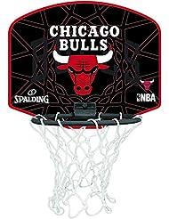 Spalding - Tablero de baloncesto pequeño, diseño de Chicago Bulls