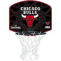 Spalding Tablero de Baloncesto Pequeño, Diseño de Chicago Bulls