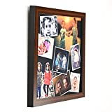 #6: AR Personalized Photo Frames Wall Collage(Brown, 12 x 12) : A-104BP