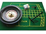 BRAND NEW ROULETTE SET - BOXED WITH CHIPS, FELT + RAKE