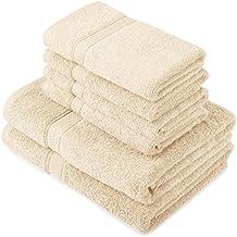 Pinzon by Amazon - Set di asciugamani in cotone egiziano,