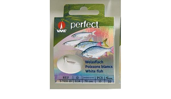 VMC Perfect Weissfisch rot Hakengr/ö/ße:16
