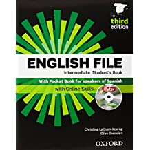 English File. Intermediate Student's Book + Workbook  + Entry Checker (con clave) (English File Third