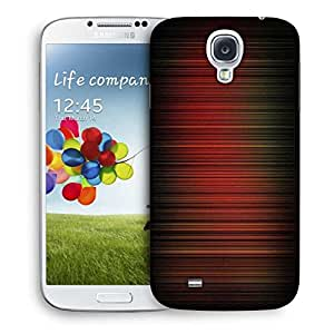 Snoogg Red Pattern Design Printed Protective Phone Back Case Cover For Samsung S4 / S IIII