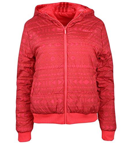 adidas Neo SC Reversible Padded Jacket Reversible Jacket Red Z49085