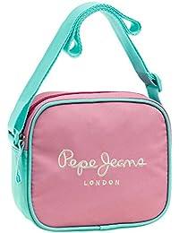 Pepe Jeans Bicolor Bolso Bandolera, 1.35 Litros, Color Rosa