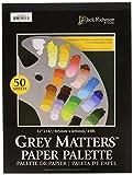 Jack Richeson grau Matters Papier Palette, 12von 40,6cm, 50Blatt