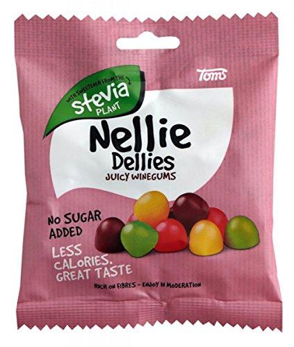Toms Nellie Dellies Juicy Winegums Stevia Fruchtgummi 90 g
