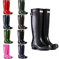 Womens Hunter Original Tall Winter Waterproof Snow Rain Wellington Boots