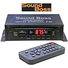 Sound Boss Mp3 with Dancing Led Car Stereo (Mini- Din)