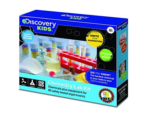 Edu Toys - Chemielabor-Set - 80 Experimente