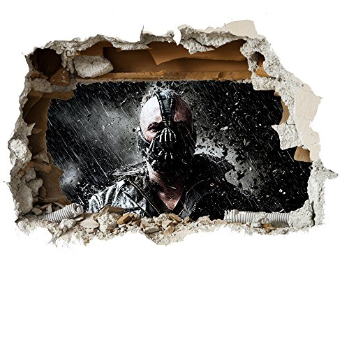 Avengers Wand zerschlagen späht Kinder-Lieblings-Charaktere 35cm oder 70cm Wandtattoo, Vinyl, Motiv: Wandkunst, Customise4U™ (bane wall smash, 700mm)