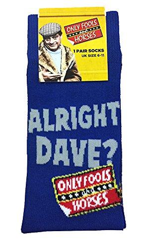 Official Trigger Blue Alright Dave? Socks