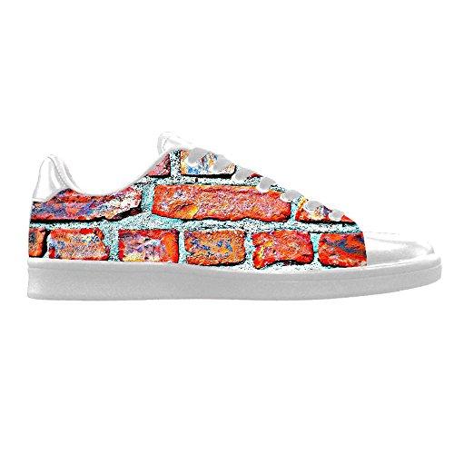 Personnalisé Mur Cadre Hommes Toile Chaussures Chaussures Lacets Haut Haut Baskets Voile Tissu Chaussures Toile Chaussures Sneakers C