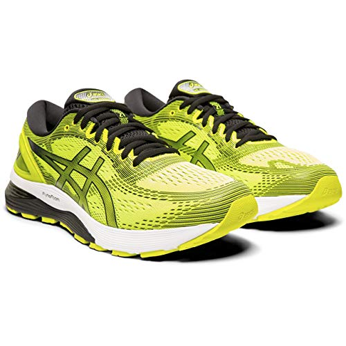 ASICS Gel-Nimbus 21, Scarpe da Running Uomo, Giallo (Safety Yellow/Black 750), 44 EU
