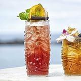 Tiki Highball Gläser, 20oz/570ml Set von 4–Hawaiian Cocktail Tumbler