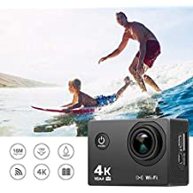 Little Big Planet 4K Wi-Fi Ultra HD Action Camera|HD 2.0 Inch LCD Screen With 16MP Wi-Fi Action Camera | Anti-Shake Waterproof Sports Camera| Camera With High-Tech V3+ Sony 179 Sensor | 170° Wide-Angle Lens Camera| Sports Camera With Slow Motion Featu