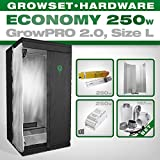 Growbox GrowPRO 2.0 S - Grow Set für Indoor Homegrow - 250W Grow Set Eco