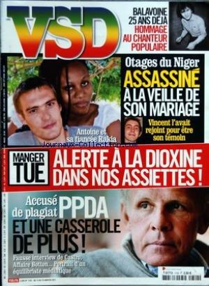 Hommage A Balavoine - VSD [No 1742] du 13/01/2011 - BALAVOINE