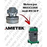 MX 59P Motor ametek de aspiración para aspiradora y te Maxiclean