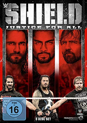 WWE: The Shield - Justice for All [3 DVDs]