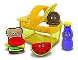 Melissa & Doug - Cesta de picnic para llenar y vaciar (13048)