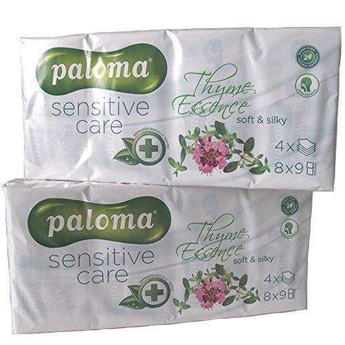 Paloma - Fazzolettini ultra morbidi, a 4 veli, con essenza