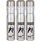 Engage Woman Deo Drizzle (165 ml) (Pack of 3)