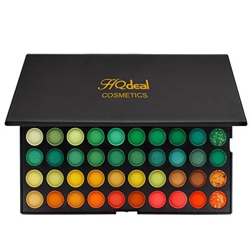 HQdeal Professional 120 Farben Lidschatten-Palette Make-up-Set für Matte Natürliche Nackt Nackt Metallic Smokey Augen Make-up