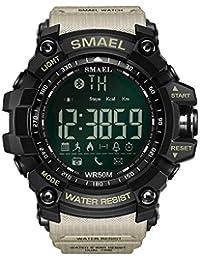 Moda Reloj Elegante de los Hombres Bluetooth Digital Deportes Reloj de Pulsera Impermeable Hombres, Mujeres