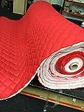 Gesteppter Stoff, 12 Farben Wasserdicht, 113,4g, geeignet für Schlafsack, Jacke, Polstermöbel, Kleid, Kleidung. Meterware. 150 cm breit. rot