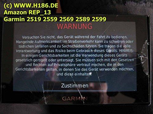 REP_13 Touchscreen Reparatur Navigation System Garmin 2519 2559 2569 2589 2599 Drivesmart 50, Dezl 570, DriveAssist 50, 51