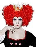 Angel Tomas S.A. Peluca rizada reina Fantasia, color rojo