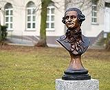 Mozart Büste, Bronzebüste