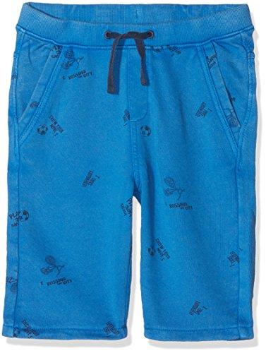 s.Oliver Jungen Shorts 63.803.75.4979, Blau (Blue AOP 55a9), 128 (Shorts Deluxe Fußball)