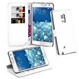 Cadorabo Coque pour Samsung Galaxy Note Edge Arctique Blanc