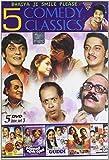 5 Comedy Classic Set - 3 (Set of 5 DVDs- Golmaal/Guddi/Pasand Apni Apni/Baton Baton Mein/Do Ladke Dono Kadke) by Dharmendra