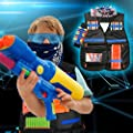 BATTOP Kids Tactical Vest Kit for Nerf Guns N-Strike Elite Series Perfect Gift for Boys Nerf Battle Game