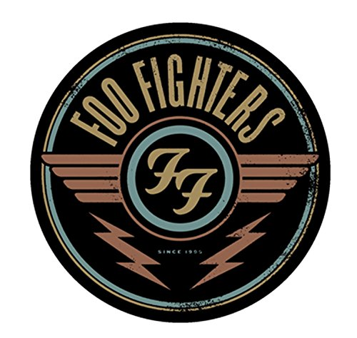 "FOO FIGHTER Red Logo, Officially Licensed Original Artwork, 4"" - Long Lasting STICKER ADESIVO DECAL"