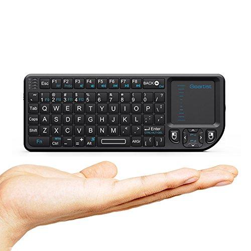 Rii I8sans fil 2,4GHz Mini clavier touchpad pour Android Google TV pour Xbox 360PS3HTPC IPTV
