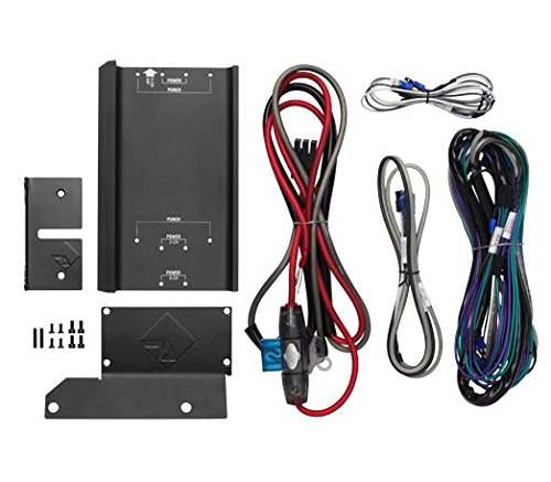 Rockford Fosgate rfkhd9813Verstärker Installation Kit w/Montageplatte für Select Harley-Davidson Motorräder und Compact Power & Punch Verstärker