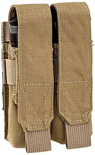 DEFCON 5 Holster Double Pistol Pouch Magazintasche Coyote Tan