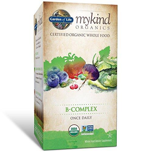 mykind Organics, B-Complex, 30 comprim̩s Vegan - Garden of Life