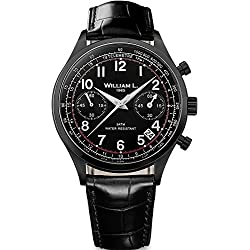 Reloj William L. para para Hombre WLIB01NRCN