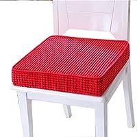 Preisvergleich für JianMeiHome Kissen Stuhlkissen Sitzkissen Tatami Mat Haushalt Schwamm Kissen Tatami Kissen Rutschfeste Sitzkissen rot (Size : 45 * 45 * 8cm)