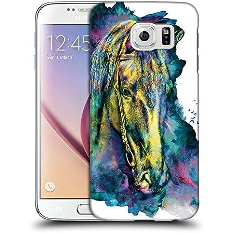 Ufficiale Riza Peker Cavallo Animali Cover Retro Rigida per Samsung